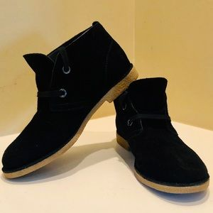 Lucky Brand Emília Suede Ankle Boots 7.5
